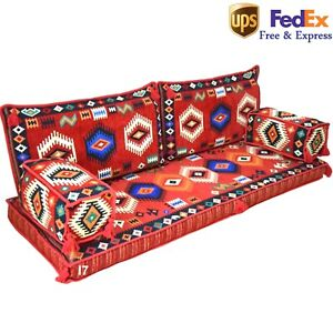 Floor Seating Sofa Arabic Turkish Morrocan Decor Oriental Set Kilim Cushion FOAM