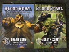 Blood Bowl Death Zone Season One (1) & Season Two (2) New