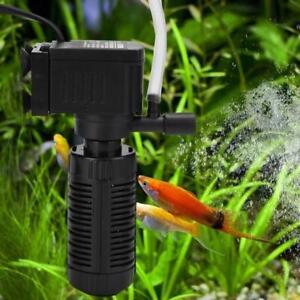 Low Noise Aquarium Submersible Pump Fish Tank Mini Air Compressor Oxygen Pump