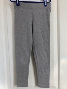 Mini Boden girls 7-8 gray leggings