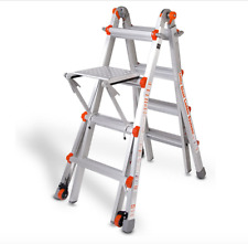 17 1A Little Giant Ladder Classic 10102 with Work Platform