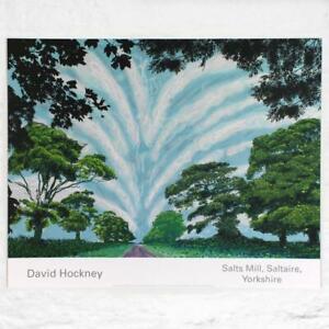 David Hockney Original Summer Sky Poster