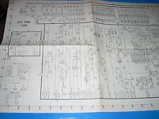 Bally Gay Time Bingo Original Schematic 1955 Complete