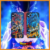 Cartoons Dragon Ball Son-Goku Phone Case For iPhone 11 Pro Max 7Plus/8Plus XR Xs