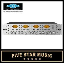 UNIVERSAL AUDIO  4-710D FOUR CHANNEL MICROPHONE PREAMP W DYNAMICS UA MIC PRE NEW