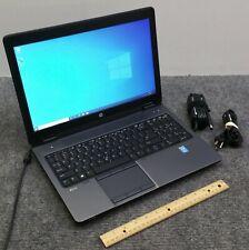 """HP ZBook 15 G2 15.6"""" 1920x1080 Laptop i7-4810MQ, 16 GB RAM, 256 GB SSD w/Adapter"""
