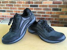 CLARK'S SUNSTORM Black Leather/ Nubuck Lace up Shoes Women's shoe Sz 7 M