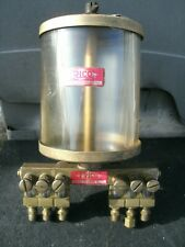 Vintage Trico Drip Oiler (6) Individual Feeds For Large Engines!
