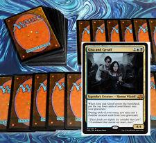 mtg BLACK BLUE ZOMBIES DECK Magic the Gathering rare cards SOI gisa and geralf
