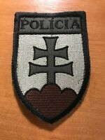 SLOVAKIA POLICE PATCH NATIONAL SWAT SRT TEAM - ORIGINAL! SUBDUED