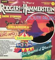 THE MAGIC OF RODGERS AND HAMMERSTEIN- 22 SHOW STOPPERS ORIGINAL VINYL LP WW 5024