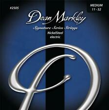 Dean Markley 2505 NickelSteel Signature Electric strings 11-52 Nickel Steel