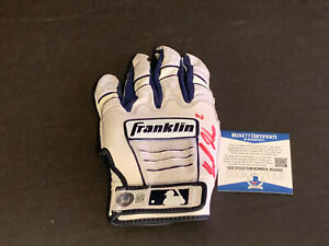 Michael Harris Braves Autographed Signed 2021 Game Used Batting Glove Beckett