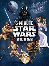 Star Wars: 5-Minute Star Wars Stories by LucasFilm Press (2015, Hardcover)