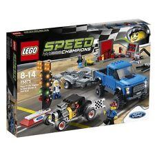Lego 75875 Speed Champions Ford F150 Raptor & Model a Hot Rod - MIB