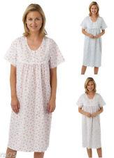 Cotton Blend Machine Washable Floral Sleepwear for Women