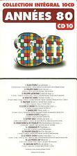 CD - ANNEES 80 avec KAREN CHERYL, PHILIPPE CATALDO, PHILIPPE LAFONTAINE, SWAN