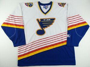 Vintage Starter NHL St.Louis Blues Hockey Jersey Size Men's XXL