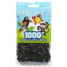 Bulk Buy: 5 x 1,000 Perler Black Color Iron On Fuse Beads: 80-19018