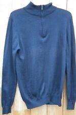 33b81f1f Zara Man Spring Men Knitted Half Zip Warm Knit Jumper Sweater Top Pullover  Top M