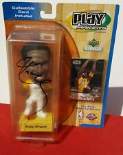 Autographed Kobe Bryant ~ 2001 Playmakers All-Star Bobblehead Collectible