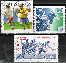 Sweden Football Socker World Cup stamps 1990s