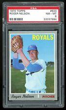 1970 Topps #633 Roger Nelson PSA 8 NM-MT #22037994 *DEC20*