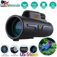 Monocular Telescope 10X42 For Mobile Powerful Professional Night Clarity Hunting