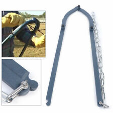 Iron Fence Fixer Barbed Wire Strainer Stretcher Chain Repair Tool Tensioner 48cm