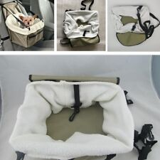 Booster Car Seat Auto Pet Dog Cat Carrier Travel Puppy Safety Basket Bag Tote