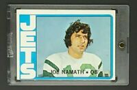 1972 Topps #100 Joe Namath HOF New York Jets *Broadway Joe*
