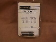 BROWNING 20 GA IMPROVED CYLINDER INVECTOR PLUS CHOKE TUBE