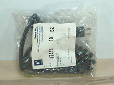 16awg 6ft Volex 17448-S2-10 Black 16/3 AC Power Coil Retractile Cord 5-15P 125v