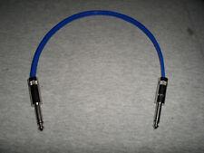 SPEAKER CABLE GUITAR 1ft 12 GAUGE NEUTRIK REAN 1/4 Amp Speaker Cab wire cord