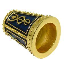 Rare Dé A Coudre Collection Fabergé style - Dé Impérial Russe Aigle à deux têtes