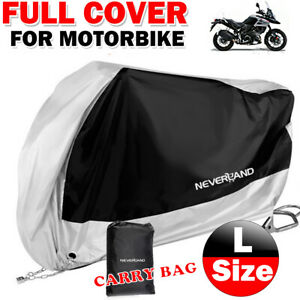 B281 XXL Motorbike Protector Motorcycle Cover Raincover Outdoor Covers Bike