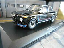 BMW 2002 02er Turbo E10 E20 black schwarz 1973 RAR Minichamps 1:18