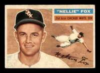 1956 Topps White Back #118 Nellie Fox  VGEX X1576318