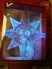 New Home Accents Holiday 11-Inch Bethlehem Color Changing Led Star Tree Topper