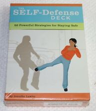 The Self-Defense Deck, 50 Powerful Strategies for Staying Safe, Factory Sealed