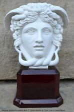 "Medusa Versace Rondanini Bust design Artifact Carved Sculpture Statue 7"""