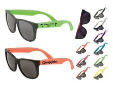 150 Personalized Two Tone Matte Sunglasses, Promotional Product, Wedding Favor