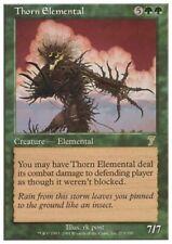 MTG 1x THORN ELEMENTAL - 7th Ed. *Rare FOIL NM*