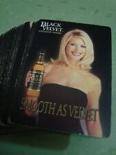 Black Velvet Canadian Whisky Playing Cards