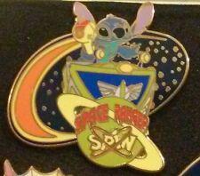 2007 STITCH MAGIC KINGDOM SPACE RANGER SPIN WDW DISNEY PIN ATTRACTION SERIES