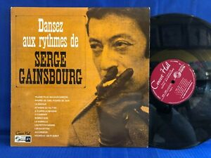 SERGE GAINSBOURG DANSEZ CONCERT HALL ORIGINAL FRANCE NEAR MINT