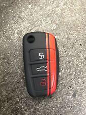 cover chiave audi a3 a4 a6 tt s line rs guscio telecomando key shell silicone