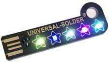 5 Stars For The Customer - UNIVERSAL-SOLDER Gadget - USB sparkling LED Keychain