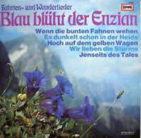 Ina Bergner, Fred Heiders Blau Blüht Der En LP Album Vinyl Schallplatte 145707
