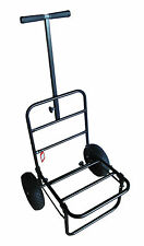 UKAS Fold-Away Fishing Trolley with Pnuematic Tyres For Coarse, Match, Carp, Sea